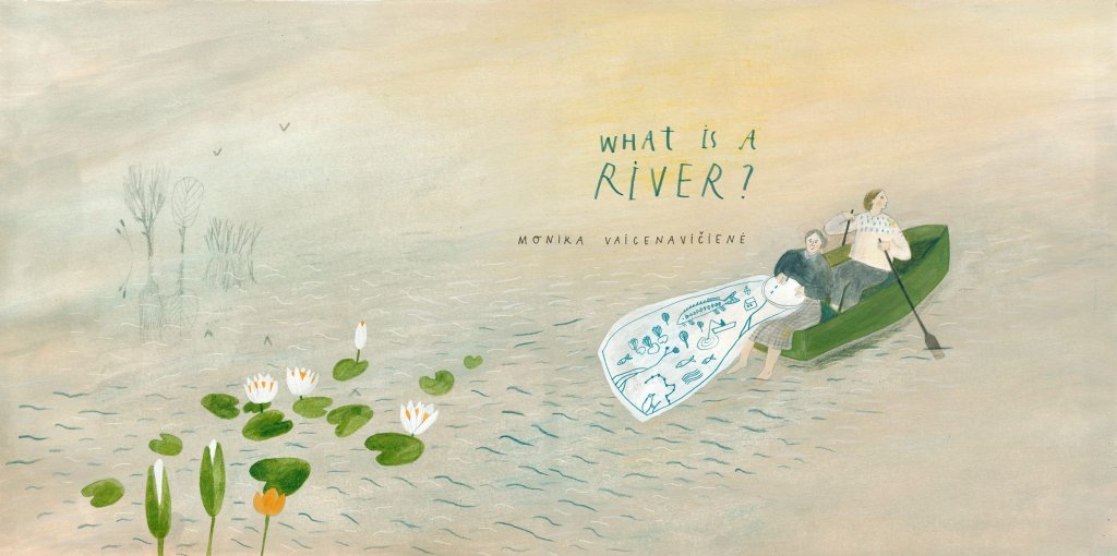 "Monika Vaicenaviciene (Nouveau talent) - Livre pour enfants ""What is a river ?"""